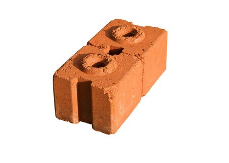 Made of clay bricks for construction