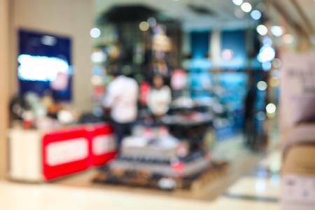 Foto für Abstract blurred shoe stores in the department store. - Lizenzfreies Bild