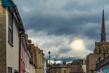 Cloudy Sky in Stow Market