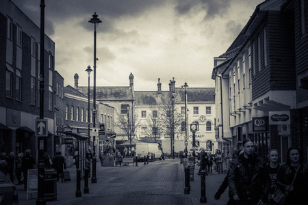 City Center In Stow Market Town