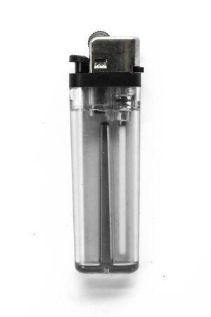 Big Cigarette Lighter on a White Background