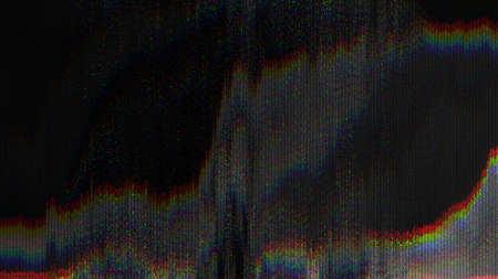 Photo for Unique Design Abstract Digital Pixel Noise Glitch Error Video Damage - Royalty Free Image