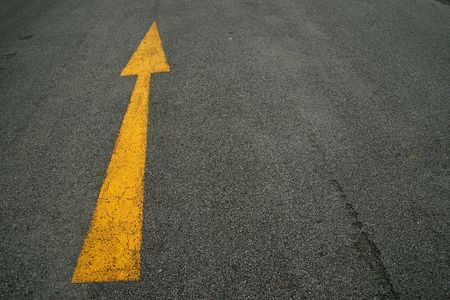 Photo for Arrows, the road - Royalty Free Image