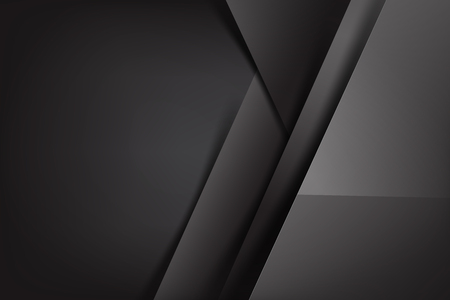 Photo pour Abstract background dark and black overlap color vector illustration - image libre de droit