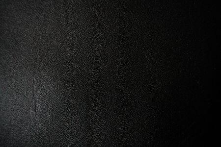 Photo pour Leather texture abstract background, Genuine black leather - image libre de droit