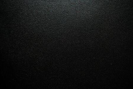 Photo pour Luxury black genuine leather texture close up, Cowhide background - image libre de droit