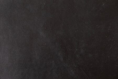 Photo pour Genuine luxury black leather background, Abstract cow skin texture - image libre de droit