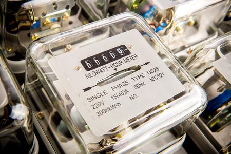 Photo pour Electric meter power tool - image libre de droit