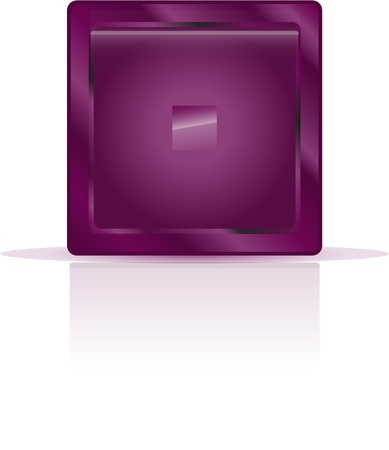 mauve button for your text and template