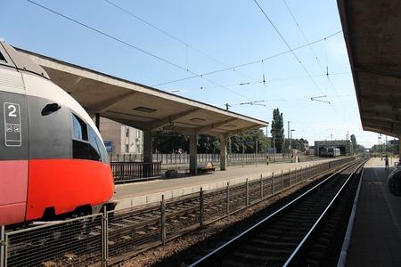 Train Station Platform
