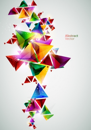 Compositions of colored triangles