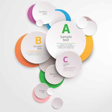 Design colorful circle