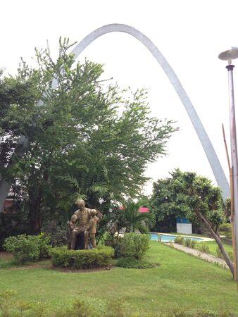Dr. Jose Rizal at Malabon City Park.