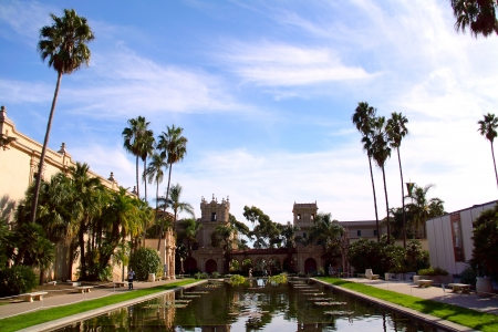 Nice Morning Air in Balboa Park, San Diego, CA