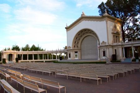 Open Air Theater in Balboa Park, San Diego, CA
