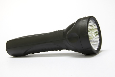 Electric LED torch isolated
