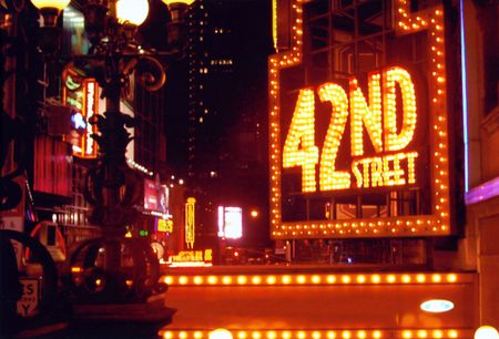 42nd street, Broadway / Time's Square area - New York City