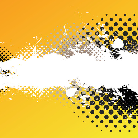 Illustration for An abstract paint splatter background texture with lots of copy space. - Royalty Free Image