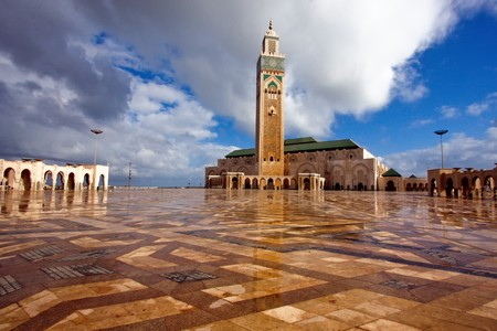 King Hassan Mosque in Morocco