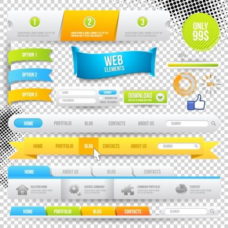 Web Elements, Buttons and Labels. Site Navigation.