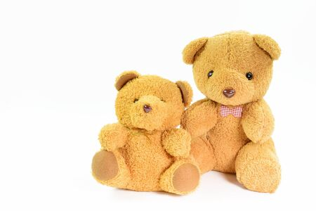 Photo for Teddy bear in Background with copy space - Royalty Free Image