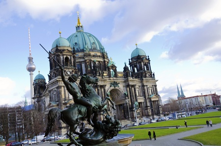 Majestic view of Berliner Dom