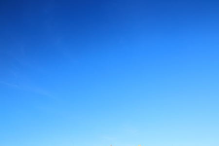 blue sky backgroundの写真素材