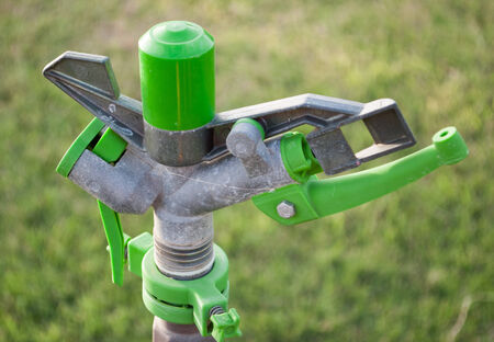 Automatic lawn sprinkler system