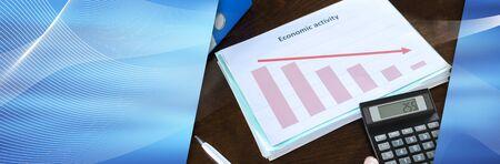 Calculation of bad economic activity; panoramic banner