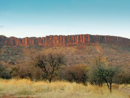 Red rocks of Waterberg Plateau, Namibia