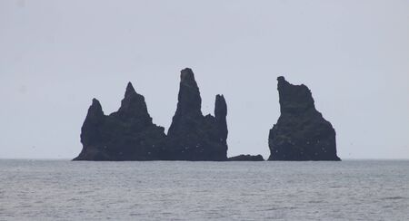 Reynisdrangar Rocks in Iceland