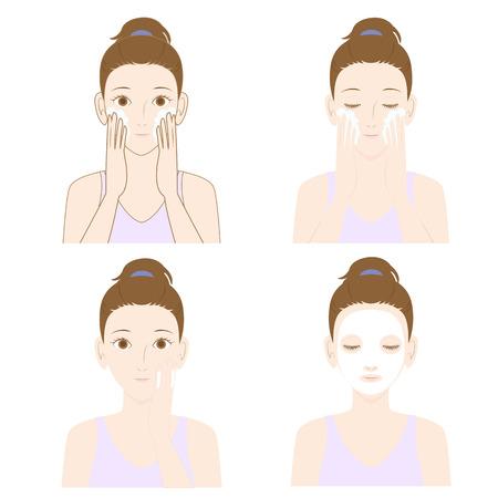 Women skin care
