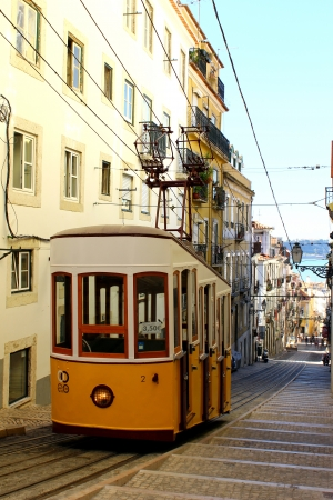 This funicular is one of the three that still work everyday in Lisbon