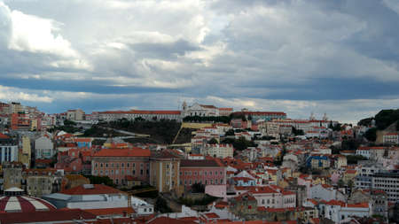 View over the capital city of Portugal, Lisbon