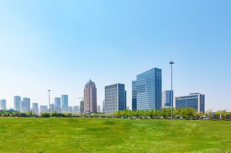 Photo pour Huangdao Business District - image libre de droit