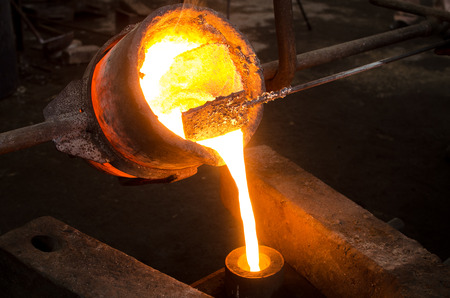 Photo for Metal Casting 2 - Royalty Free Image