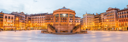 Photo for Panorama of Pamplona CIty Center, Spain - Royalty Free Image