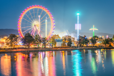 Foto per Stuttgart Spring Festival - Germany - Immagine Royalty Free