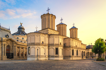 Patriarchal cathedral of Bucharest, Romania