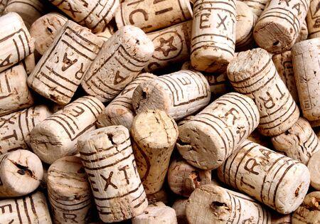 fine  image of cork bottle detail background