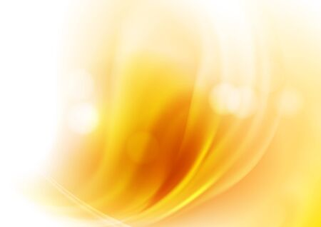 Illustration for Light background  with orange  light blurred spots and  bokeh. The illustration contains transparency and effects. EPS10 - Royalty Free Image