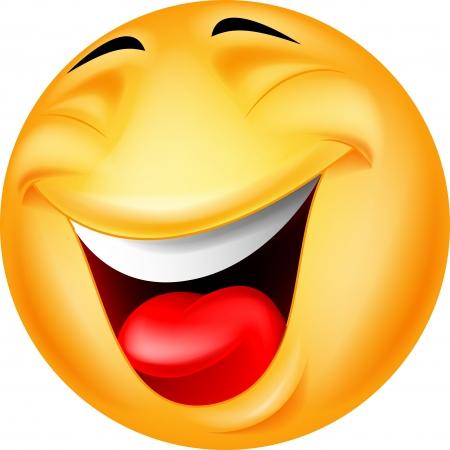 Ilustración de Happy smiley emoticon - Imagen libre de derechos
