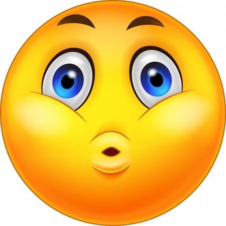 Smiley Emoticons Surprise Expression