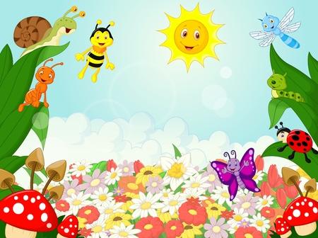 Foto de Small animals cartoon - Imagen libre de derechos