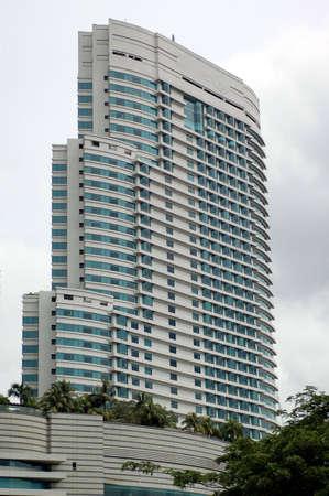 Shops and apartment block in Kuala Lumpur