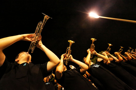 Trumpet Players - Marching Band