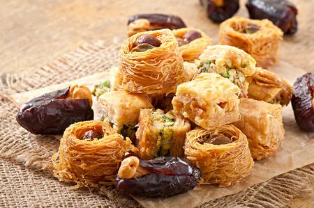 Photo pour Eastern sweets - image libre de droit