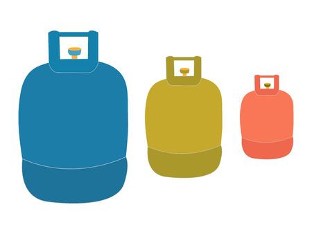 Liquid propane tank logo