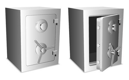 Illustration pour Safes. - image libre de droit
