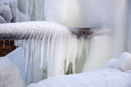 Frozen water jets